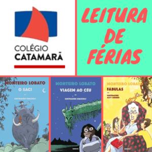 leitura de ferias colégio Catamarã